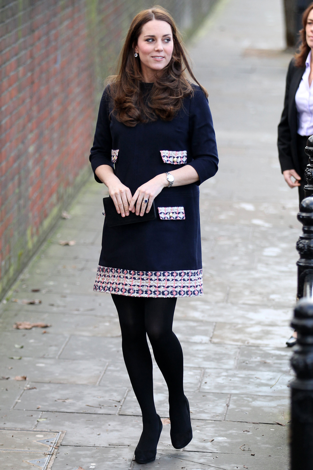 Duchess Kate Wears Maternity Label Madderson