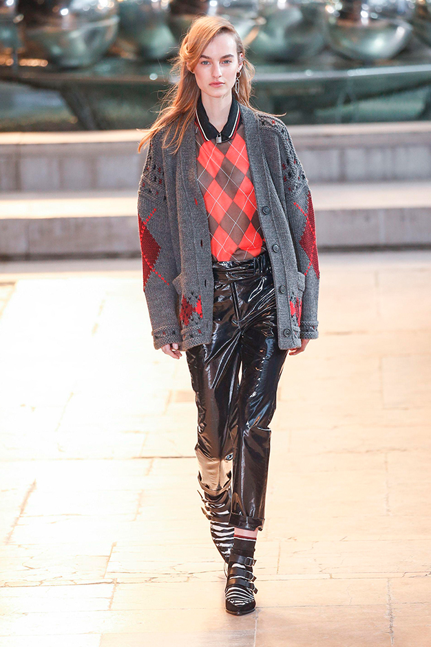 Vinyl trousers: Meet the cool new trouser trend that is surprisingly totally wearable
