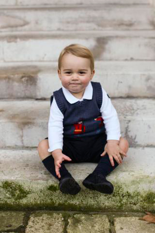 Prince George at Kensington Palace