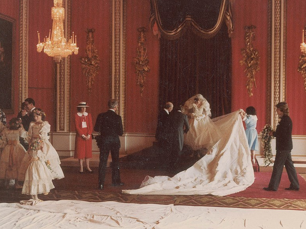 this is why princess diana had a secret second wedding dress this is why princess diana had a secret