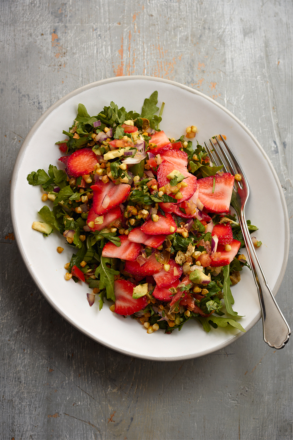 the sirtfood diet strawberry buckwheat tabouleh