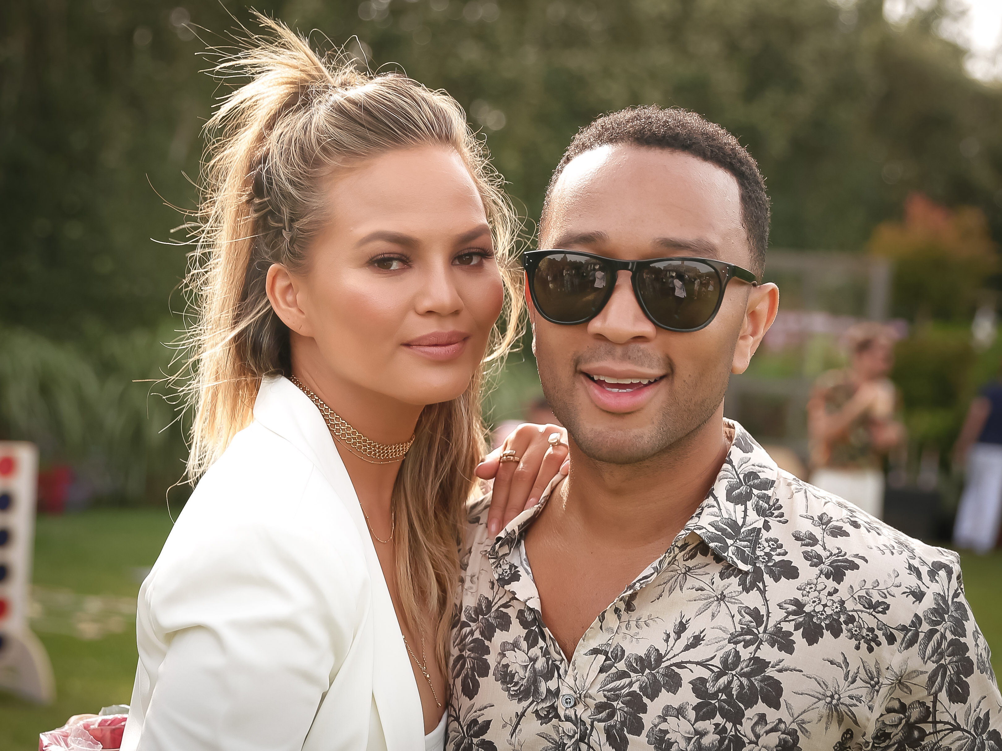 Chrissy Teigen And John Legend Had A Massive Row At Kim K