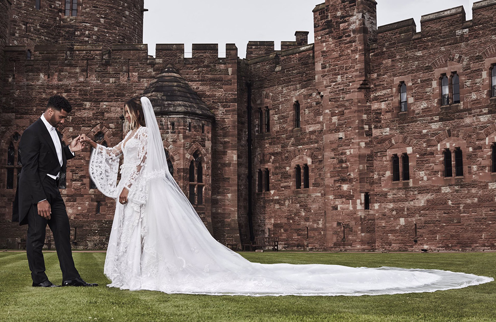 Ciara Wedding Dress Designer Peter Dundas Goes Behind the Scenes ...