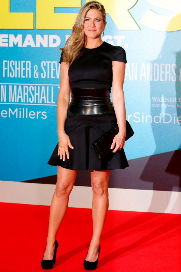 Jennifer Aniston in Alexander McQueen at Berlin premiere