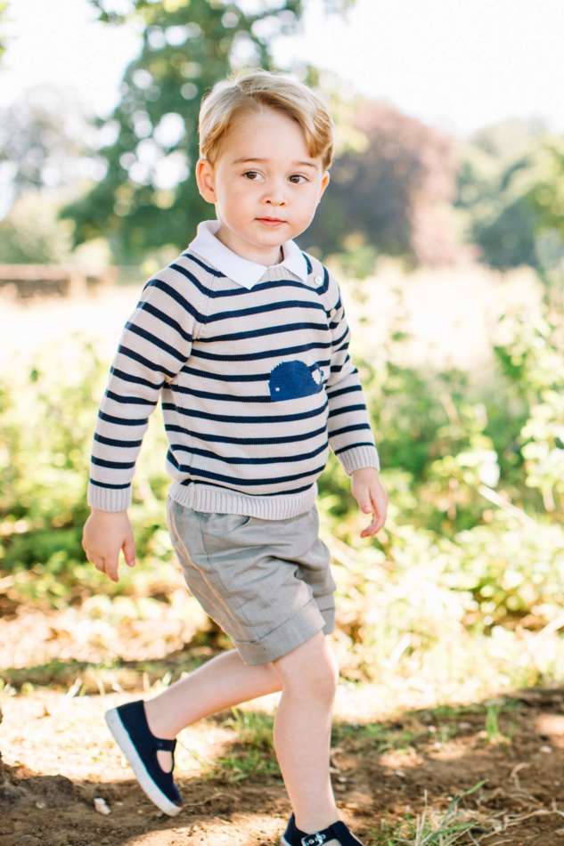 The internet isn't happy with this picture of Prince George and Lupo. Mmm. Ok.