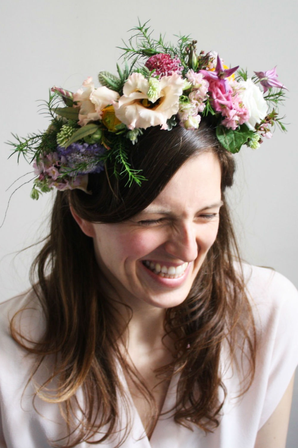 Wedding flowers ideas for your big day a floral crown adds a touch of the festival to your wedding go full floral for winter you could easily izmirmasajfo Images