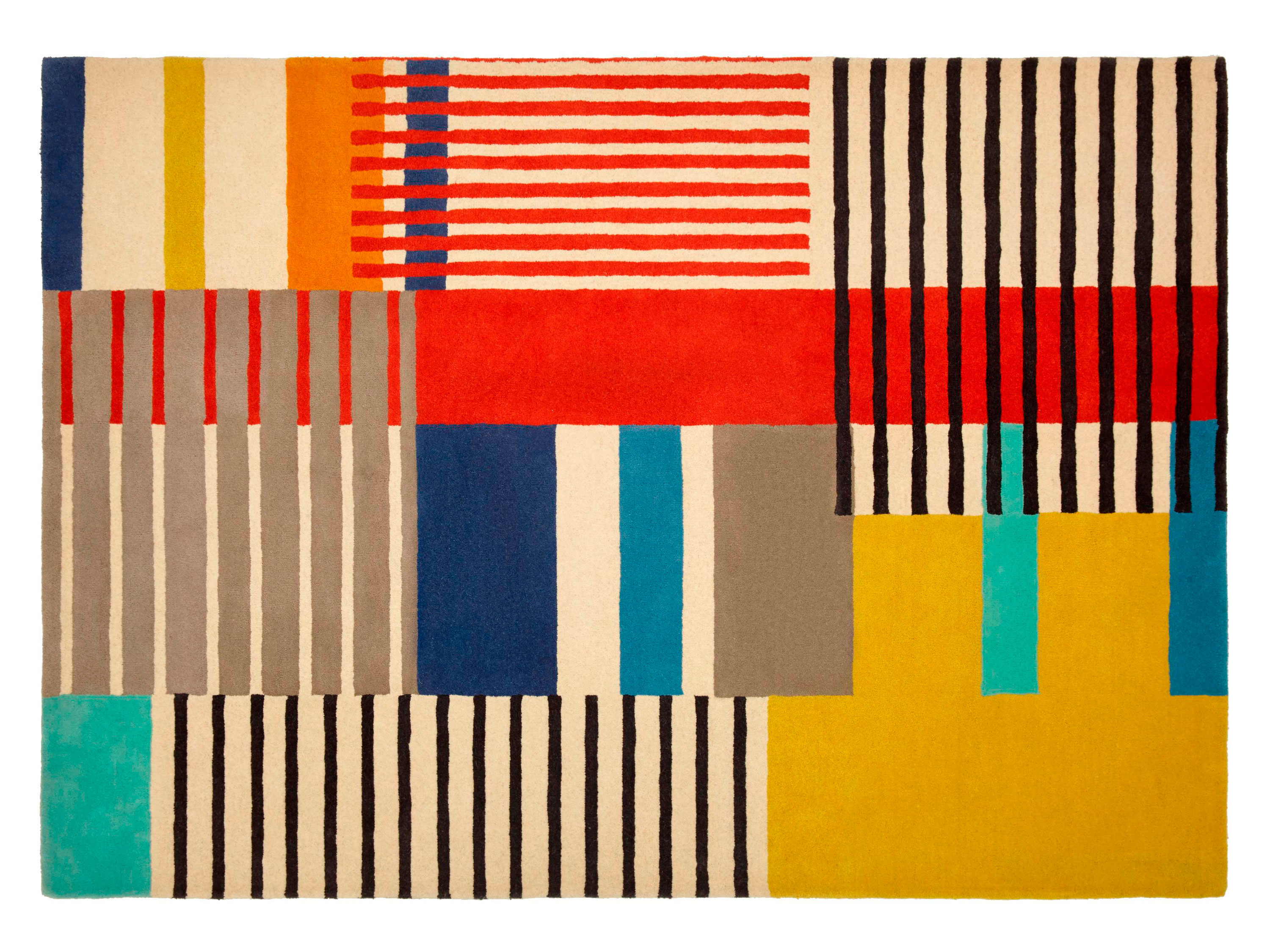 9 Graphic Rugs To Instantly Update Your Living Room