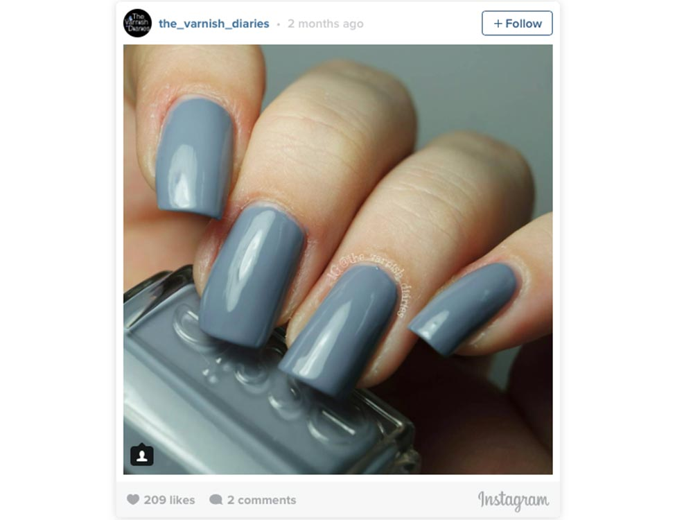 This is the most pinned nail polish ever