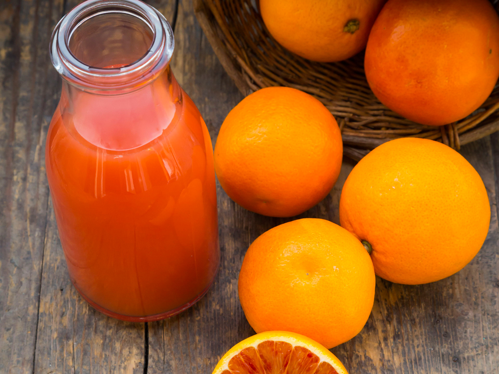 Vitamin D foods orange juice