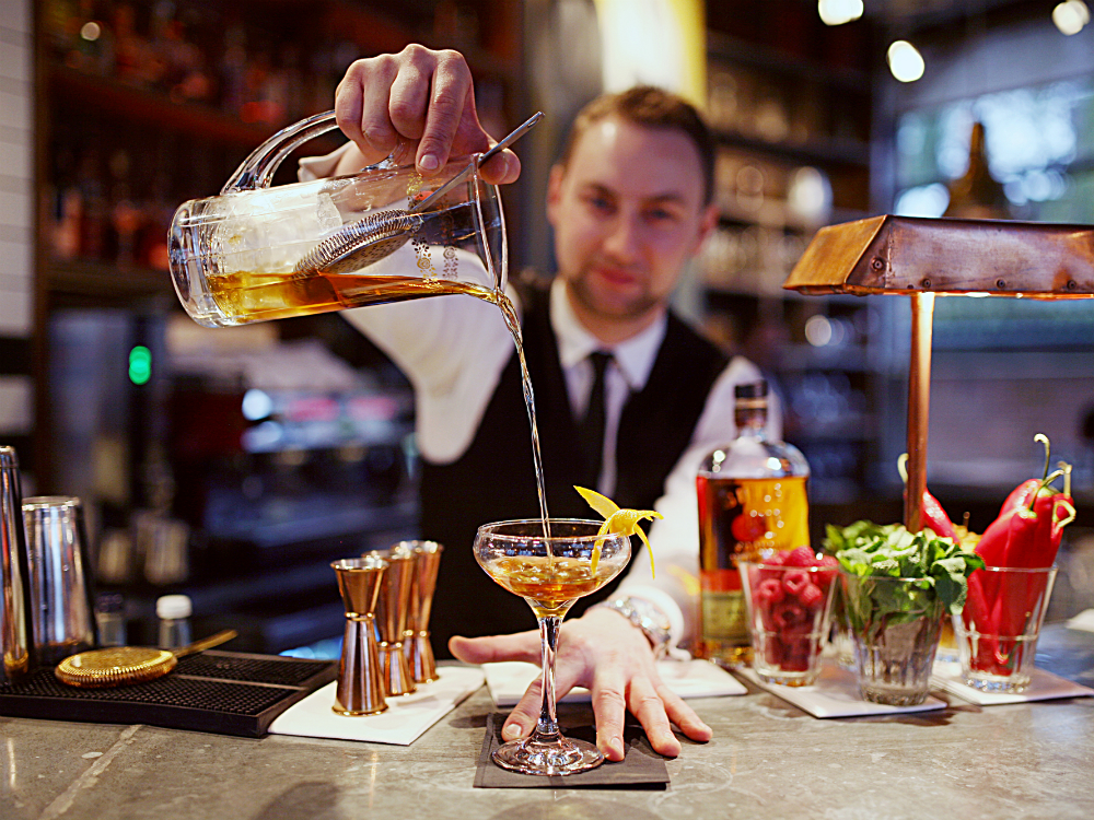 Old Fashioned Bar's Mysterious Beast, The World's End Market London's Best Old Fashioneds