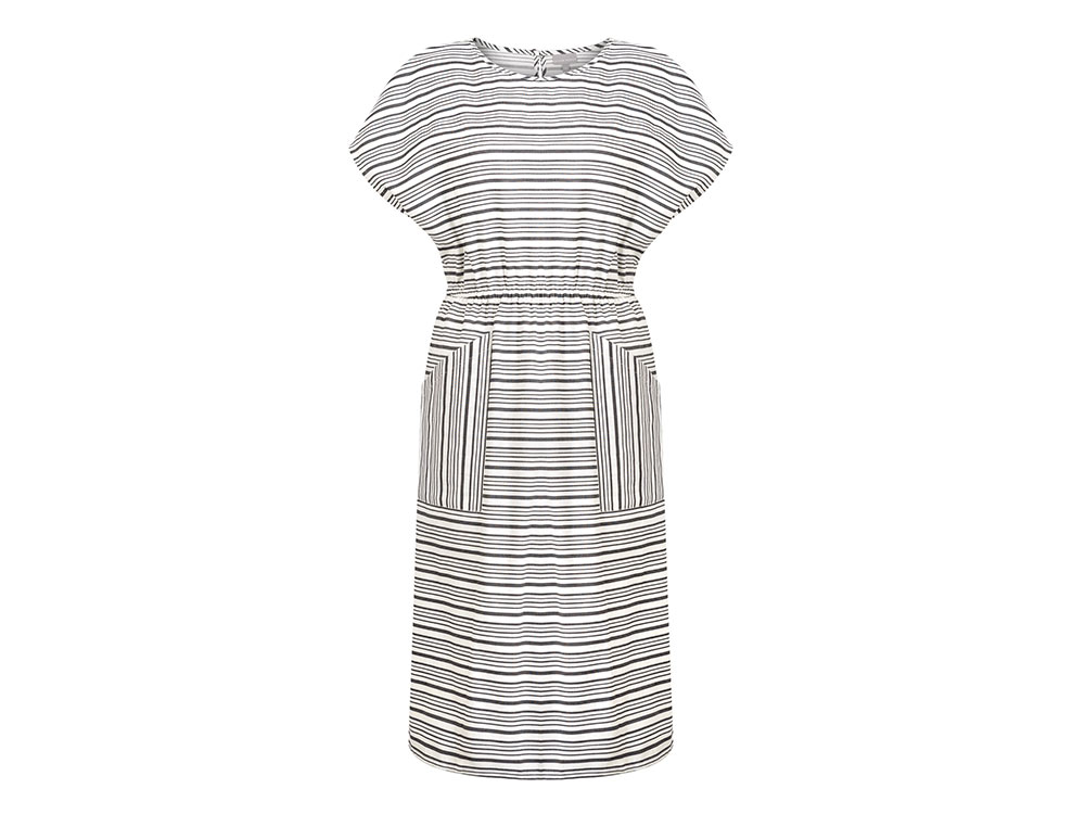 Ahoy Stripe Midi Dress