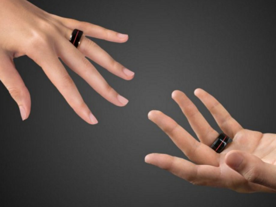 the next level wedding ring which lets you feel your partner s heartbeat