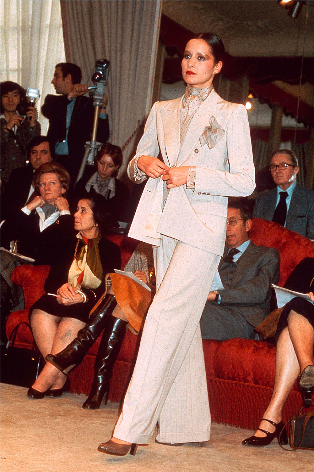 b3cb237a8fc YSL Catwalk Moments. YSL 1976. Yves Saint Laurent ...