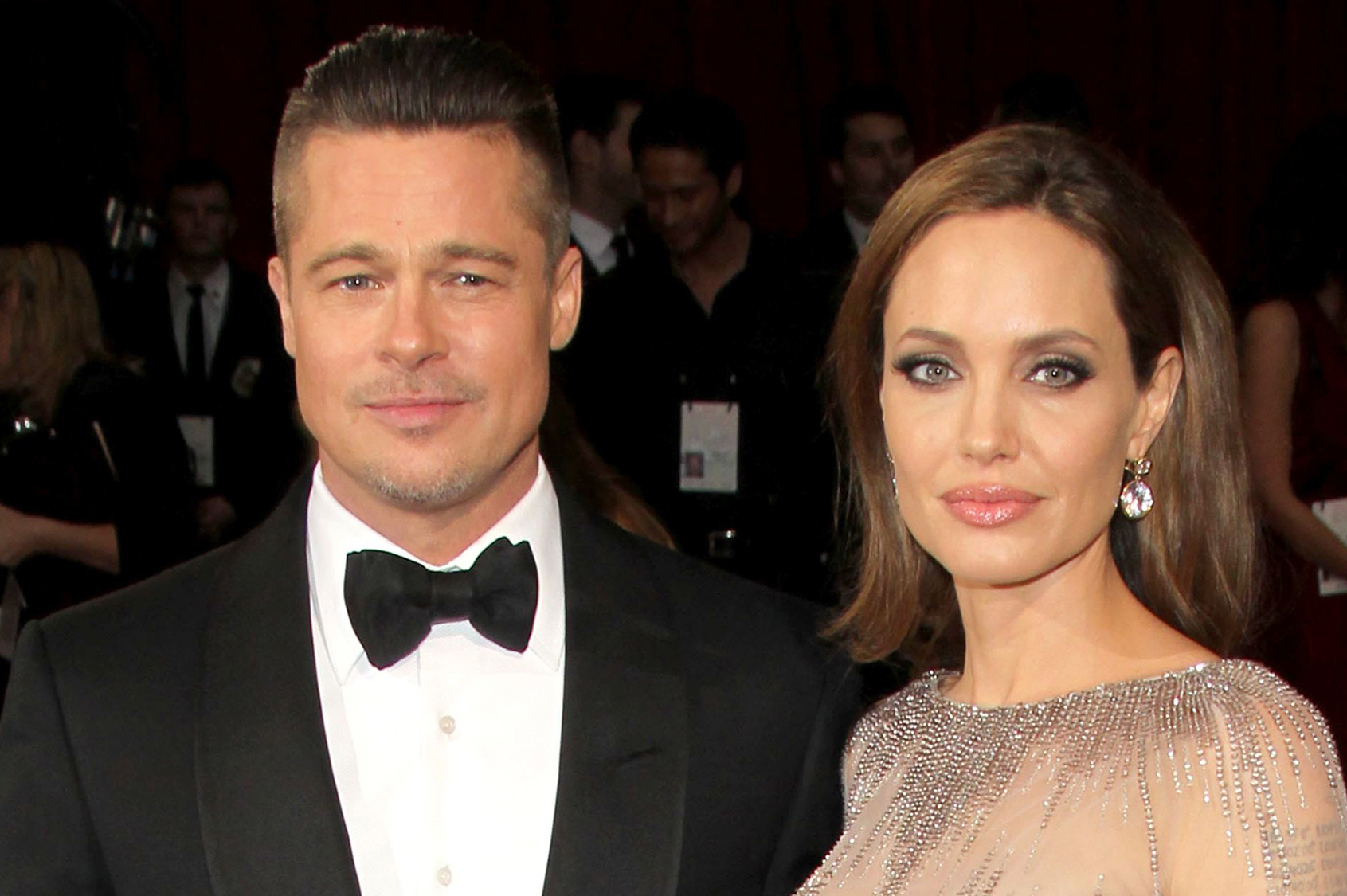 Angelina Jolie is apparently moving house to be closer to Brad Pitt