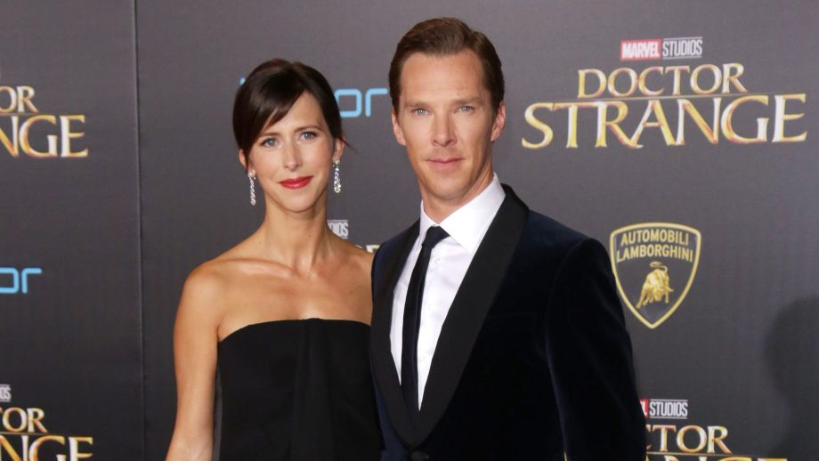 Benedict Cumberbatch and Sophie Hunter baby number two