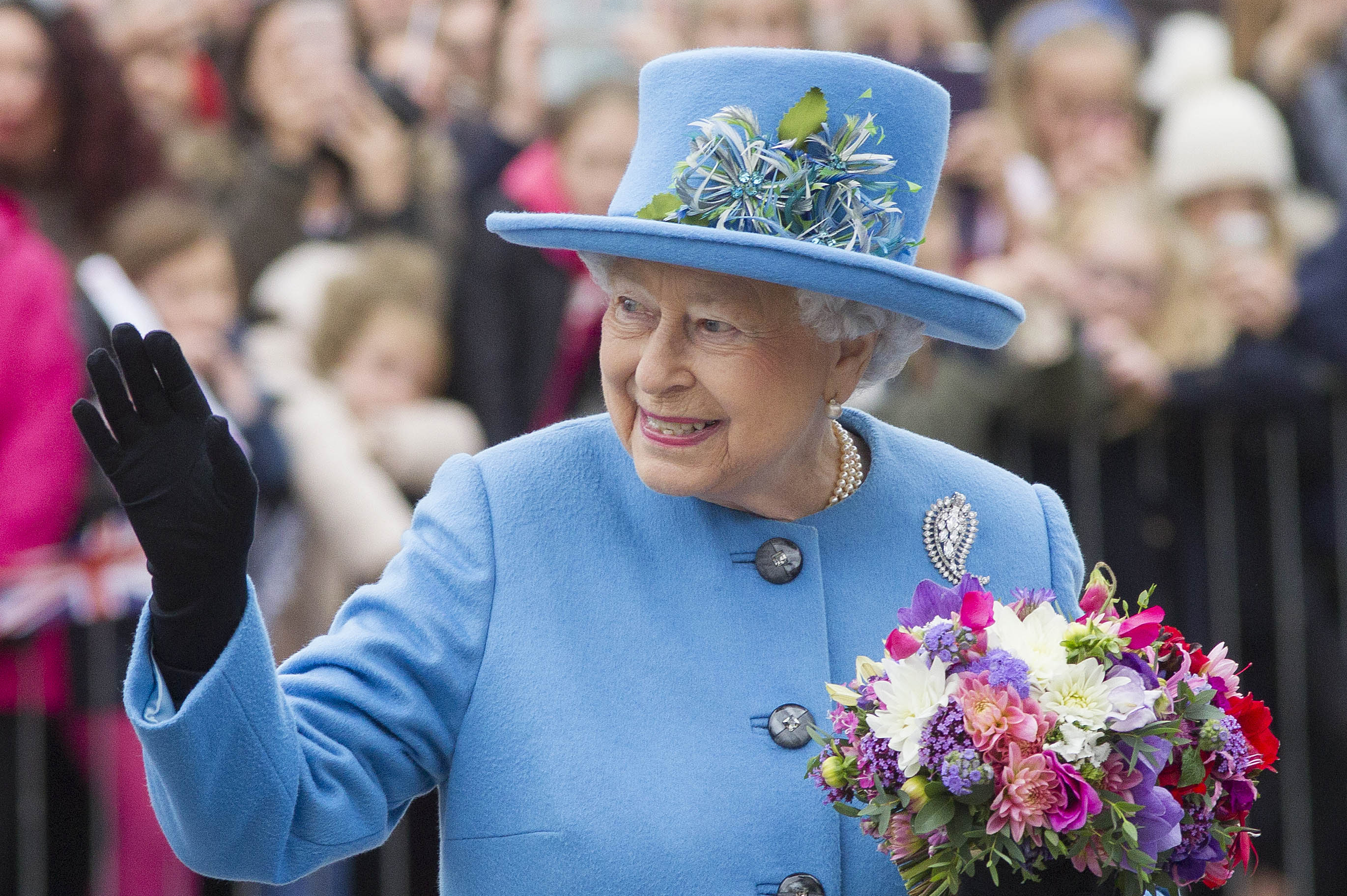 The Queen just surprised a four-year-old boy on his birthday