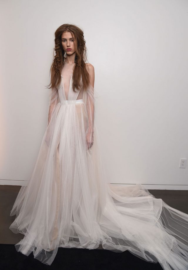 91e63dba003 Our Favourite Fall 2017 Looks From NY Bridal Fashion Week