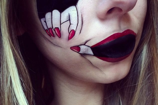 Halloween Makeup Tutorials From The Super Spooky To The ...