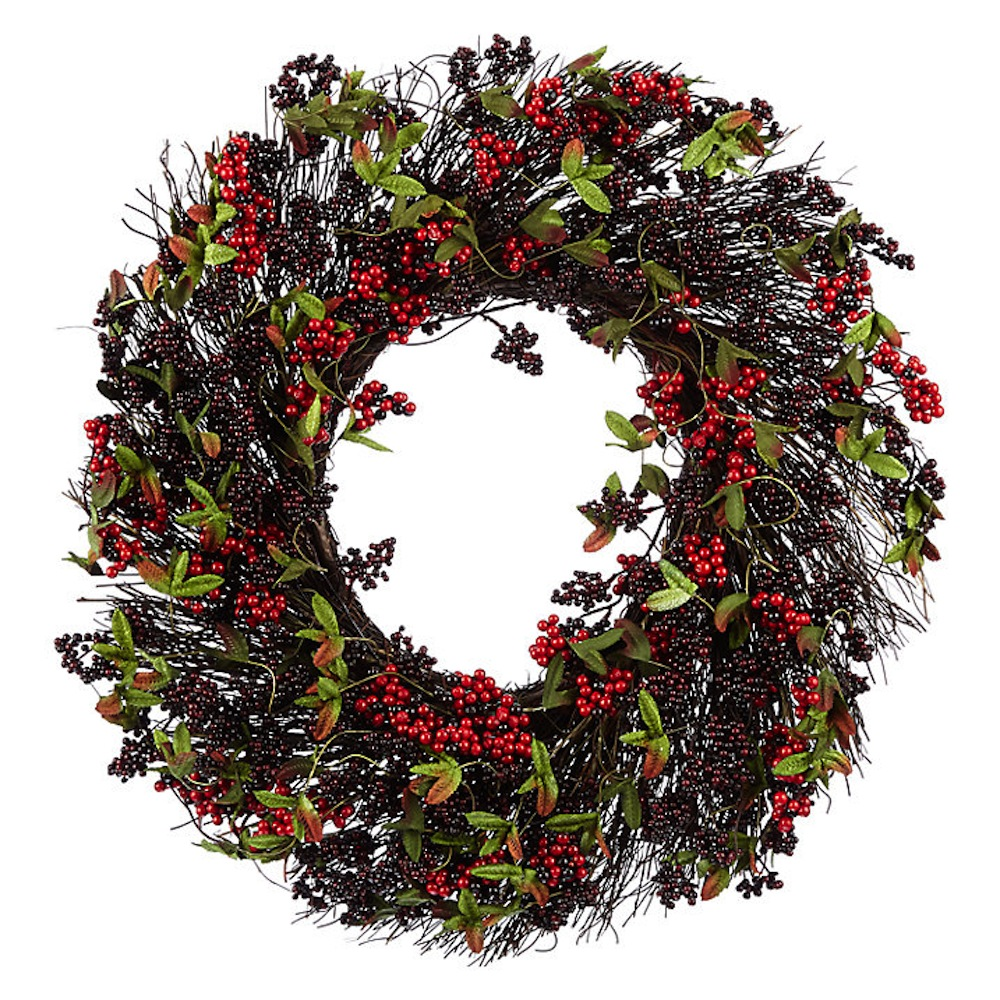 Christmas wreaths the best christmas door decorations for Best place to buy wreaths