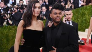Bella Hadid & The Weeknd at The Met Ball 2016