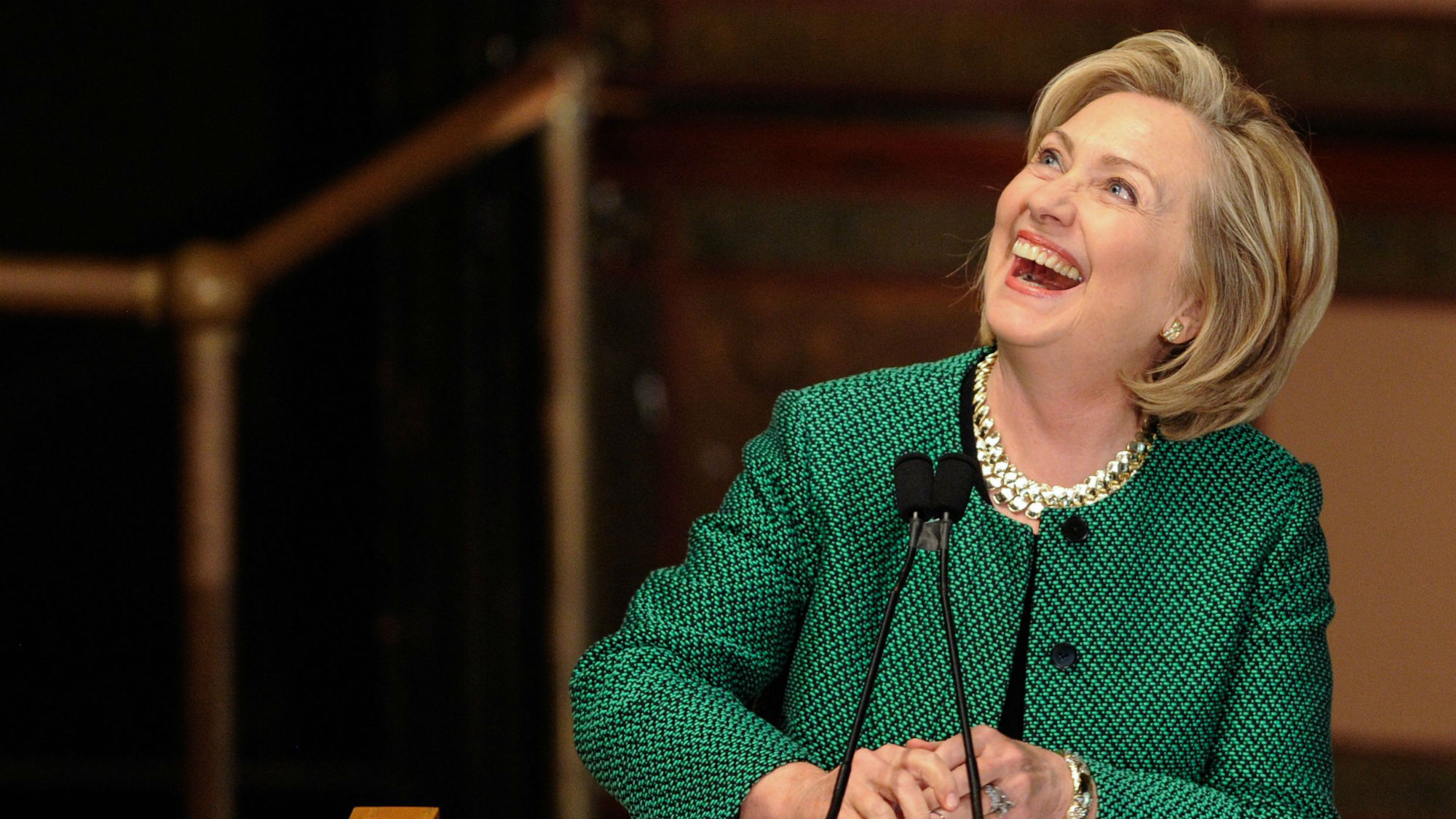 Hillary Clinton is officially back in politics