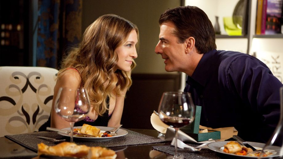 Carrie Bradshaw and Mr Big