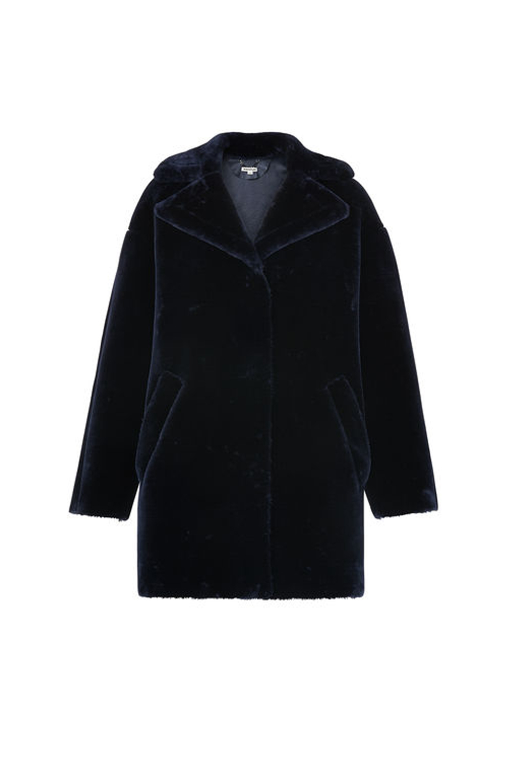 how to clean black winter coats