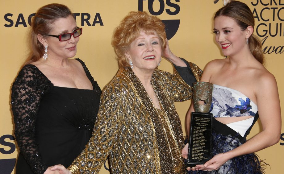 Carrie Fisher Billie Loud Debbie Reynolds