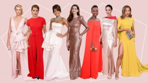 Golden Globes Dresses through the ages