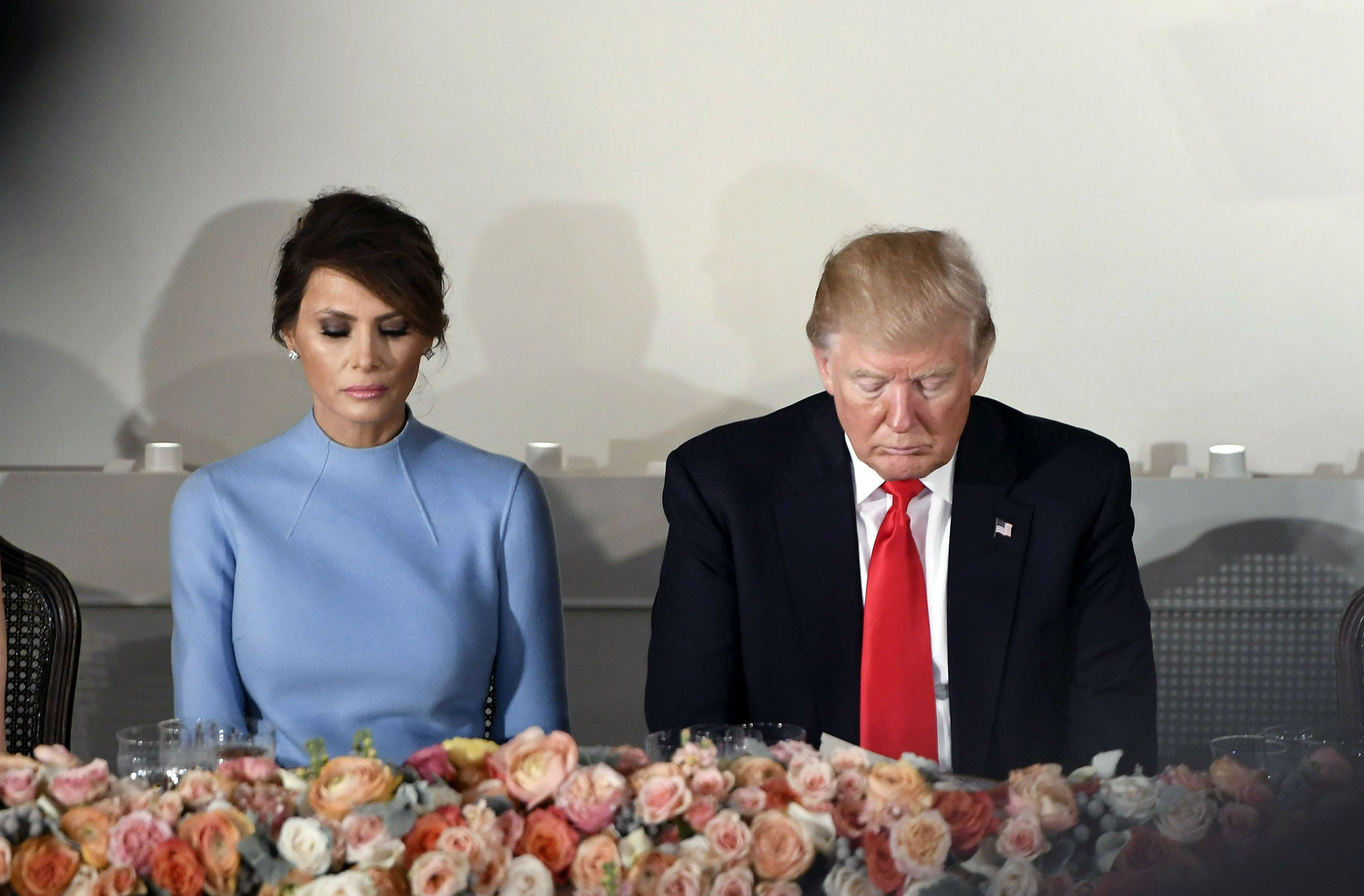 Why the body language between Melania and Donald is so fascinating to watch