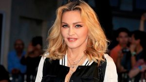 Madonna is having a film made about her and she is not happy about it