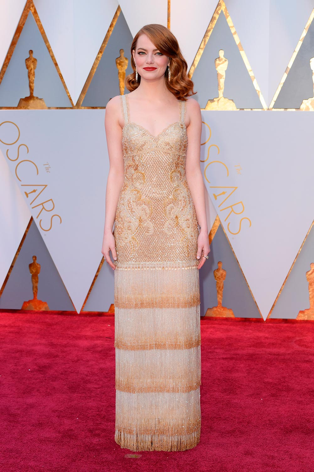 The important detail you missed on Emma Stone's Oscars dress