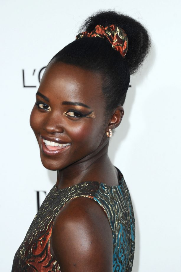 Wedding hairstyles beautiful ideas for your big day from the a list wedding hairstyles lupita nyongo junglespirit Images