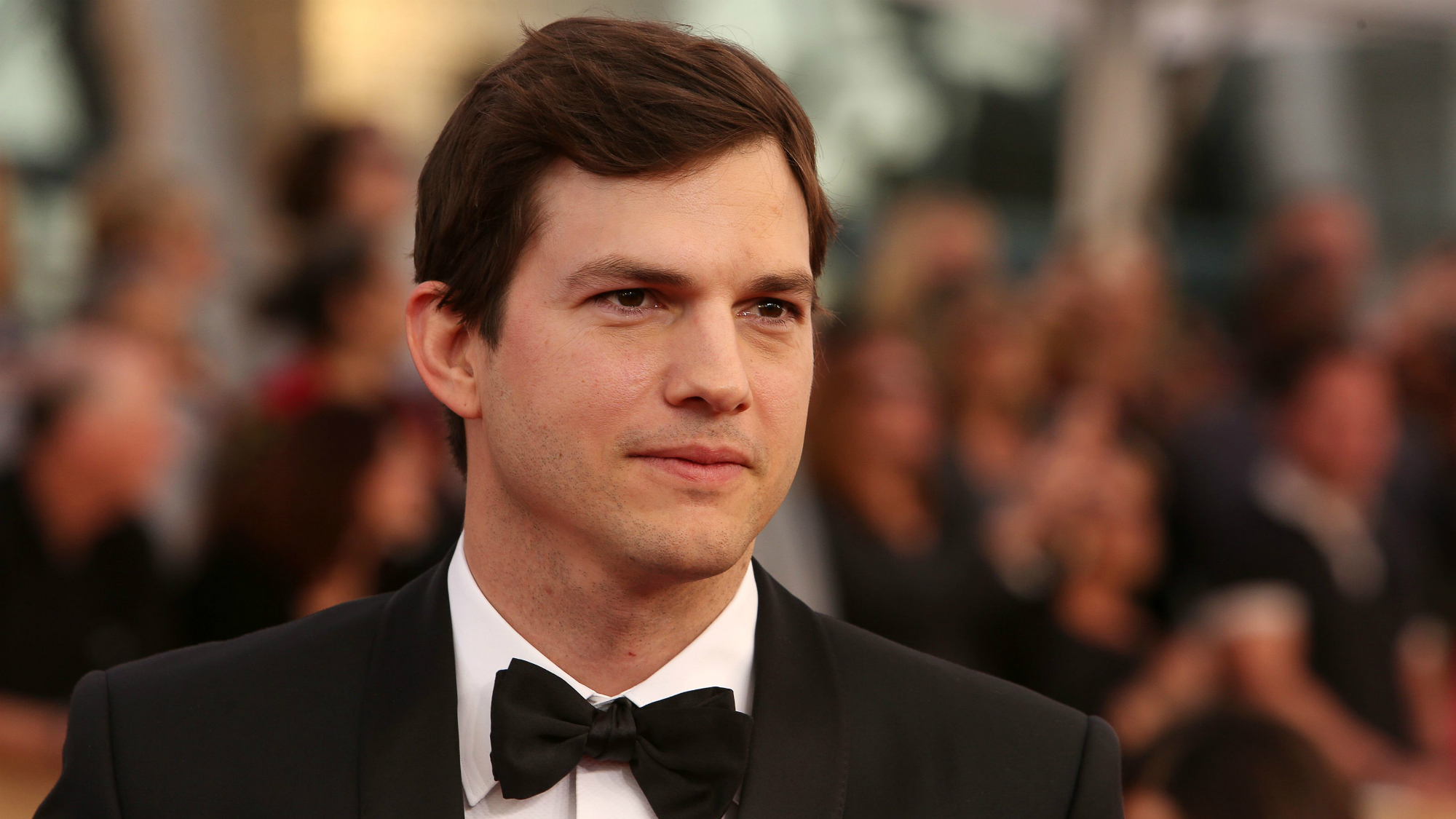 Ashton Kutcher just made an emotional call to end sex trafficking