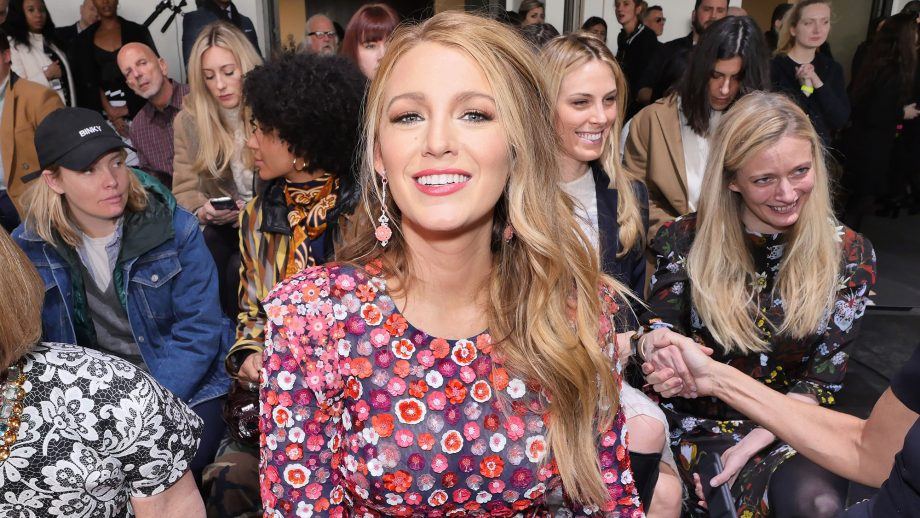 Blake Lively dressed up as Baby Spice