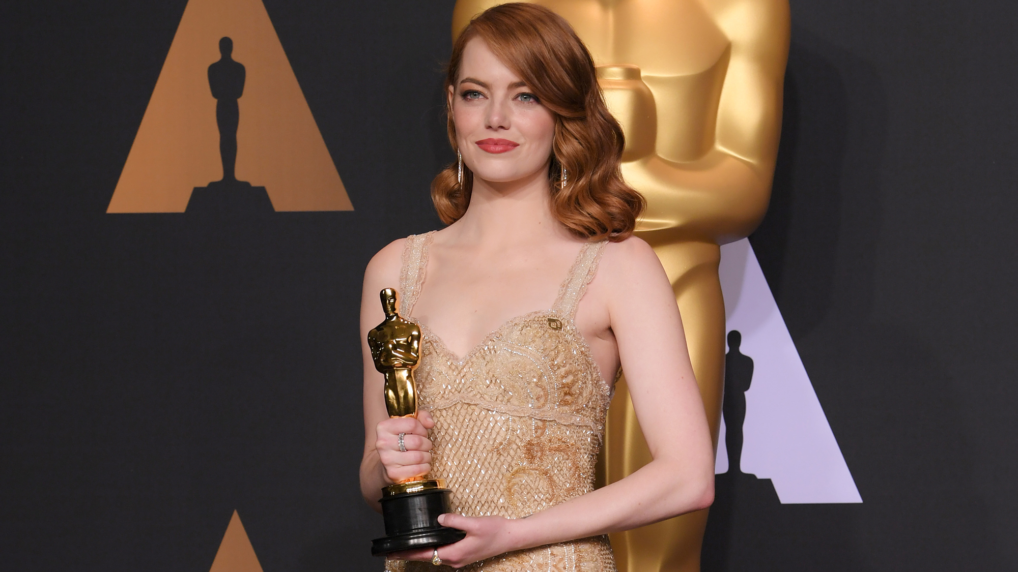 The Important Detail You Missed On Emma Stone's Oscars Dress Emma Stone