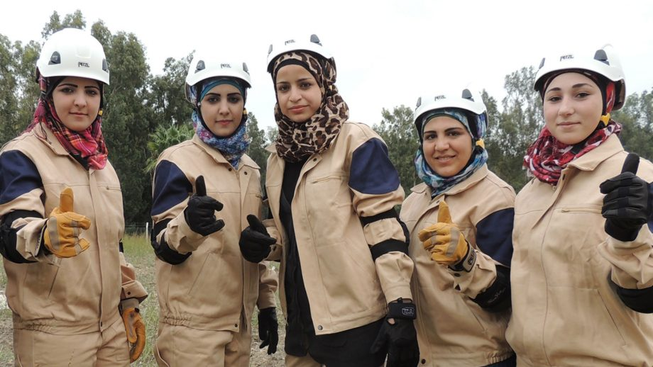 Meet the White Helmets  Syrian volunteers risking their lives every day d397ebcf9