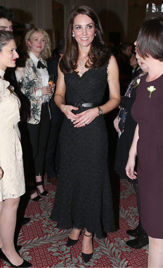 346e4e53cc7 Kate Middleton wears Chanel for the first time (and styles it well)