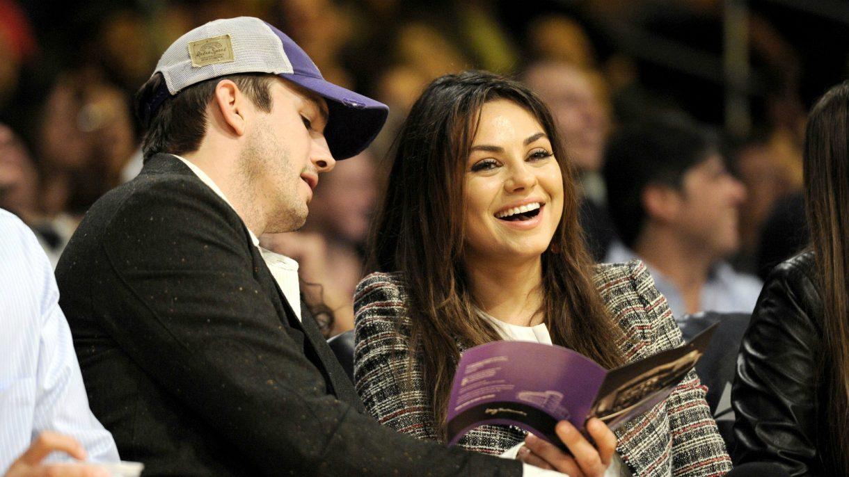 Mila Kunis And Ashton Kutcher Surprise Her Parents In The