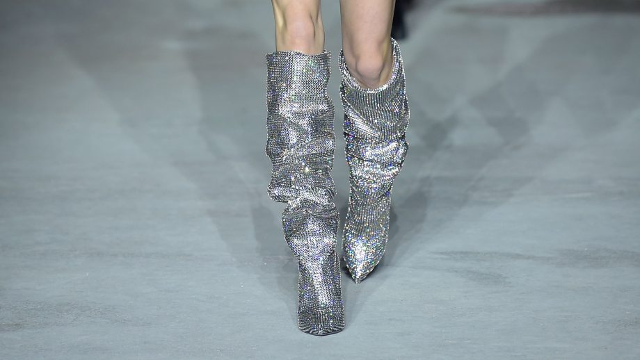 35c4090df25 Saint Laurent's Glitter Boots Are What Dreams Are Made Of