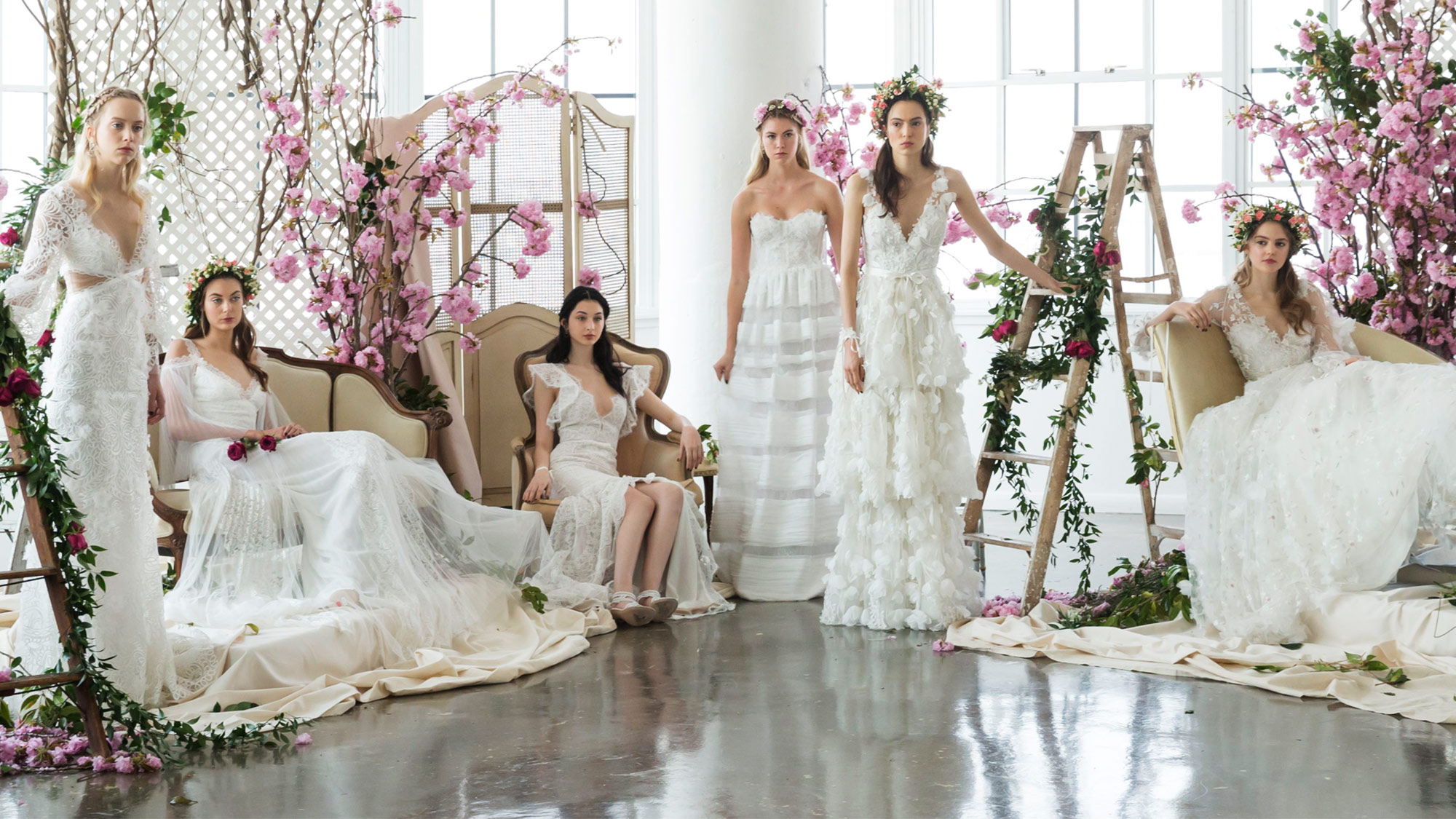 Beautiful Weddings: The Most Beautiful Wedding Dresses From Bridal Fashion Week