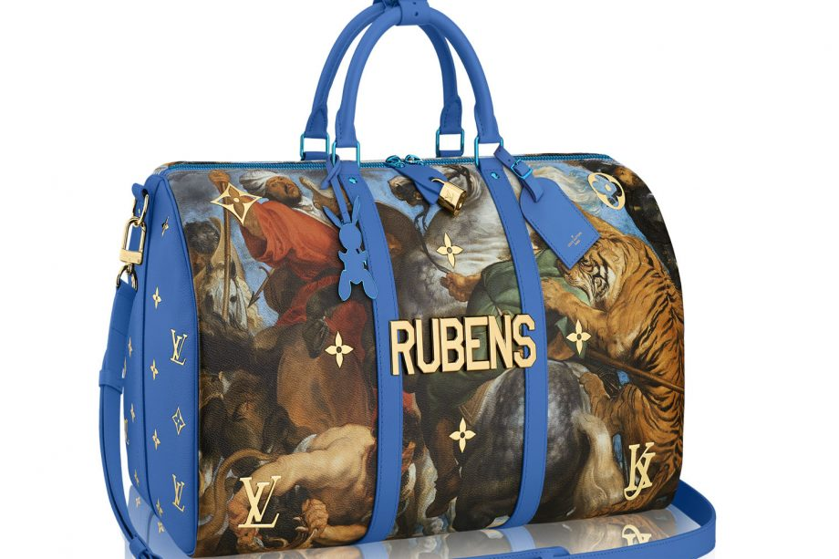 Louis Vuitton Collaborates With Artist Jeff Koons On Bag