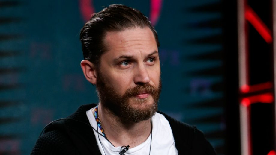 This is the very sweet reason behind Tom Hardy's latest selfie
