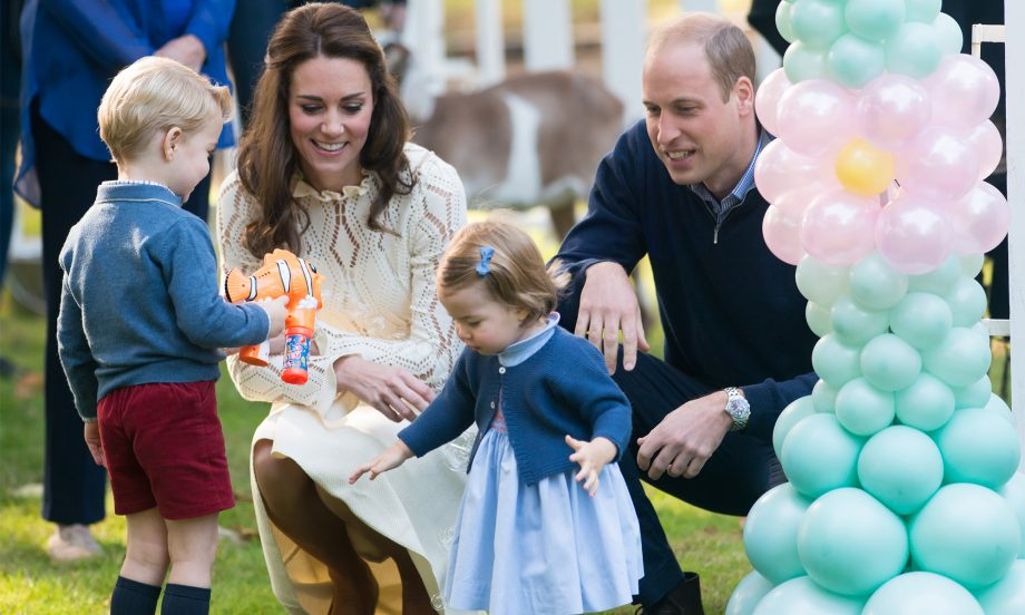 kate and william kids