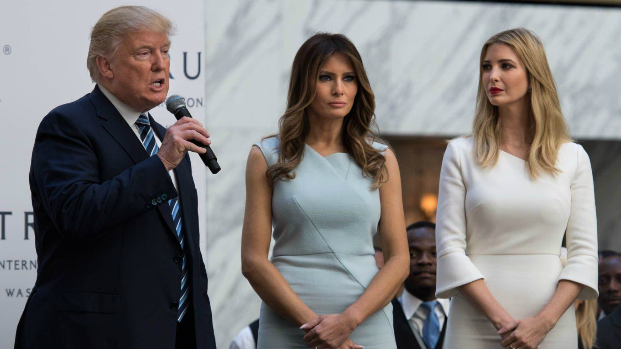 Melania and Ivanka Trump just caused some controversy in ... Stephanie Grisham