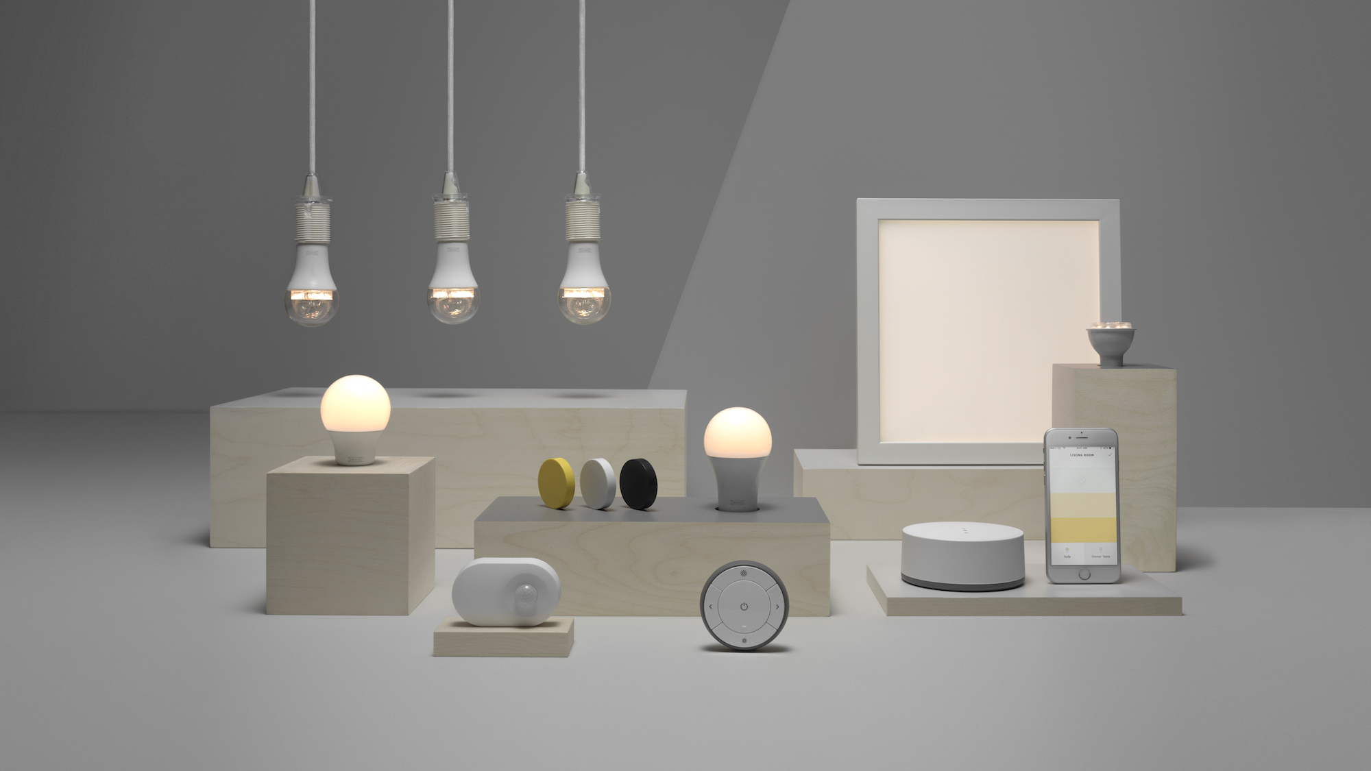 You can now control these ikea smart lights with your voice - Interior smart lighting ...