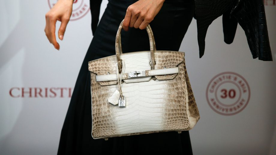 5bd7ee5f9d1 This Hermes bag just became the most expensive bag in the world
