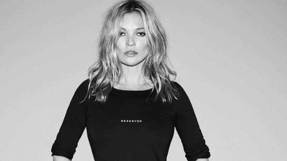 Kate Moss Face Of Reserved Fashion Label AW17
