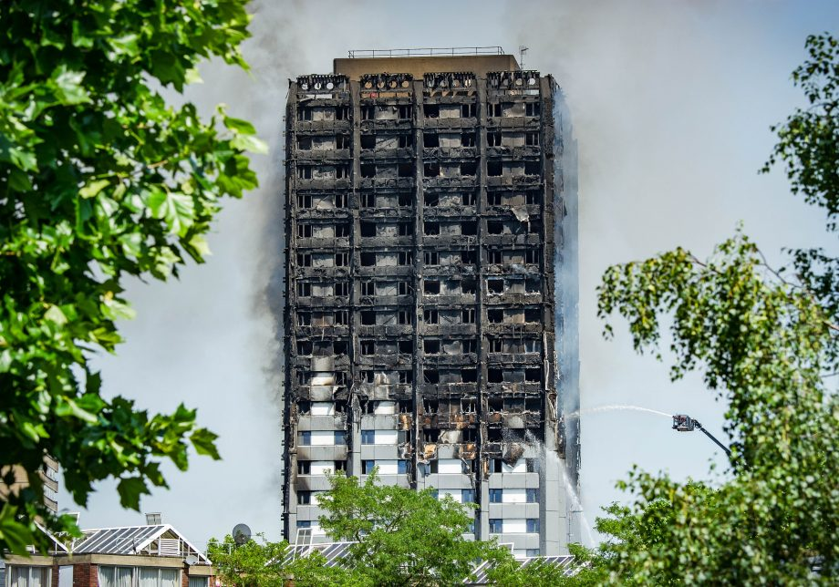 Grenfell Tower fire cause