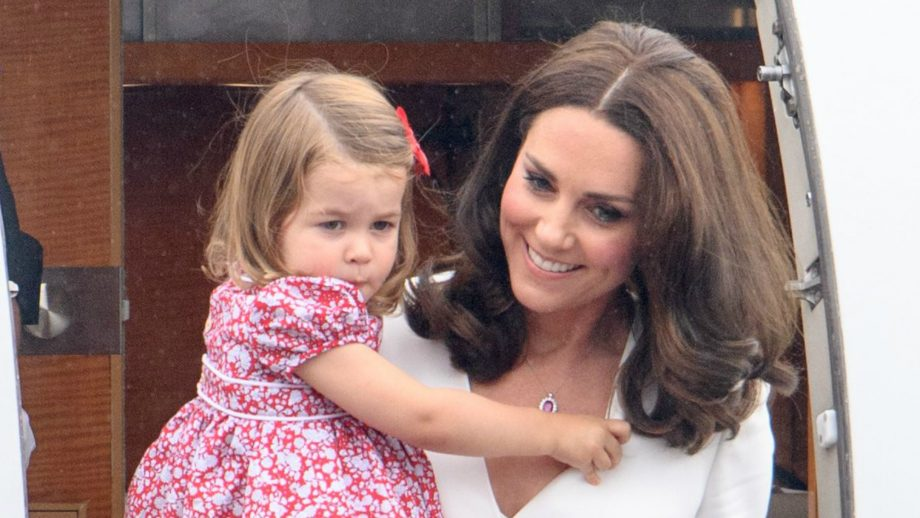 prince george princess charlotte on tour